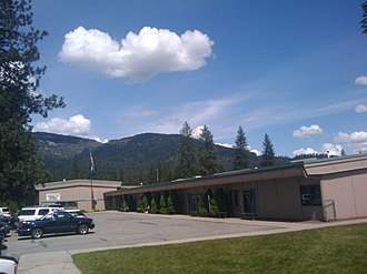 Rathdrum, Idaho - The intermediate grade wing of Rathdrum's elementary school, John Brown
