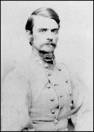 Battle of Glasgow, Missouri - Brig. Gen. John Bullock Clark, Jr. was a commander of Confederate forces engaged in the Battle of Glasgow.