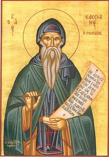 John Cassian Christian monk and theologian