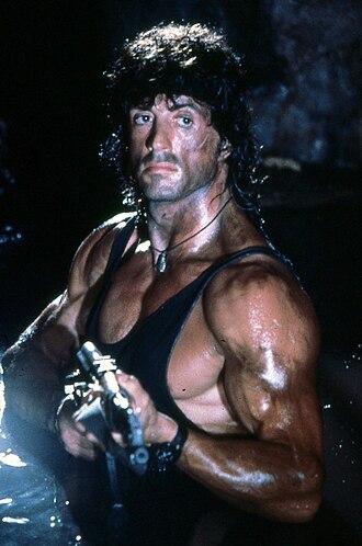 Rambo (franchise) - Stallone in Rambo III