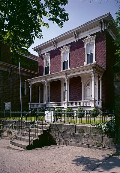 Sherman's childhood home in Lancaster John Sherman Birthplace.jpg