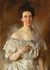 Portrait of Esther Fiske Hammond, Mrs. Gardiner Greene Hammond