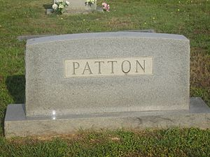 John Sparks Patton - Patton family gravestone at Arlington Cemetery in Homer, Louisiana