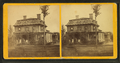 Johnson house showing the family on the porch of the wood frame home, from Robert N. Dennis collection of stereoscopic views.png