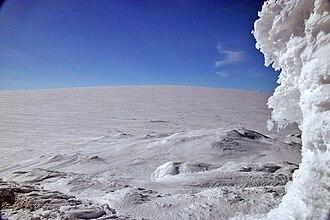 Hardangerjøkulen - Hardangerjøkulen's highest point (1,863 m above sea level).