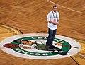 Jon Lester 2008 NBA Finals.jpg