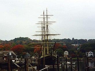 Joseph Conrad (ship) - Image: Joseph Conrad at Mystic