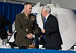 Joseph Dunford and Michael Pence 180221-D-SW162-1329 (26536822618).jpg