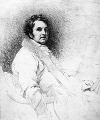 Sketch of Joseph Gandy by Henry William Pickersgill, 1822.