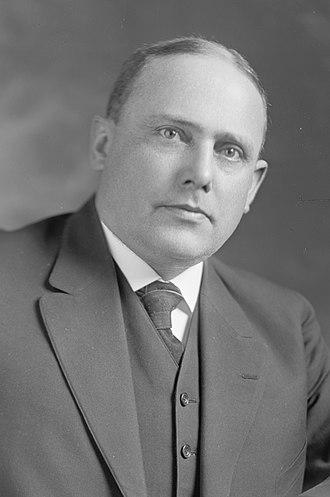1920 Montana gubernatorial election - Image: Joseph M. Dixon