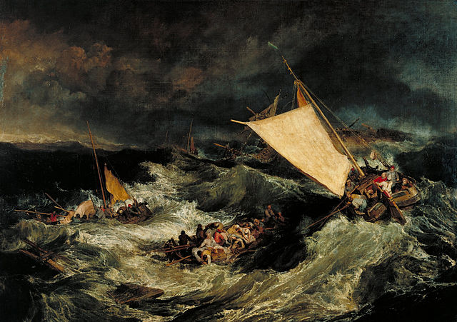 JMW Turner The Shipwreck