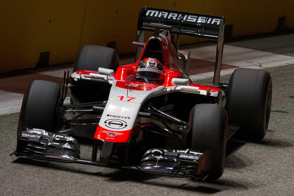 Jules Bianchi 2014 Singapore FP2