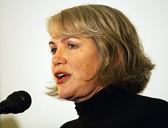Julia Sweeney - Sweeney speaking at the Atheist Alliance International Convention in 2008
