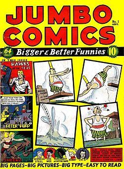 Sex serier av tecknade serier
