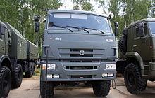 КамАЗ Википедия КАМАЗ 6560 на показе военной техники в Бронницах