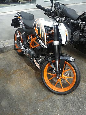 Image illustrative de l'article KTM 390 Duke