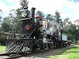 K 88 steam locomotive