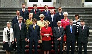 Second Balkenende cabinet Cabinet of the Netherlands