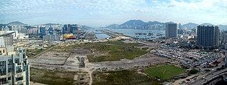 Kai Tak Development - Kai Tak Development Area (October 2010)