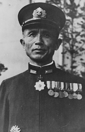 Take Ichi convoy - Rear Admiral Sadamichi Kajioka in 1944.