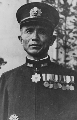 Take Ichi convoy - Rear Admiral Sadamichi Kajioka in 1944.