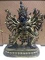 Kalachakravarja copper statue Qianlong era IMG 5855 Great Lama Temple Beijing - Jietai Building qianlong era temple treasures.jpg