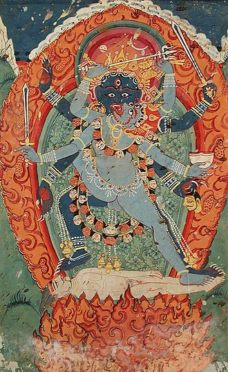Yab-Yum - Bhairava and Kali in union.