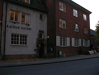 Kalmar Nation, Lund - club is in the basement