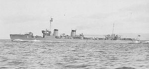 Japanese destroyer Kamikaze (1922) - Image: Kamikaze II