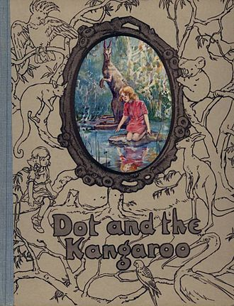 Ethel Pedley - Cover of a 1920 publication of Dot and the Kangaroo