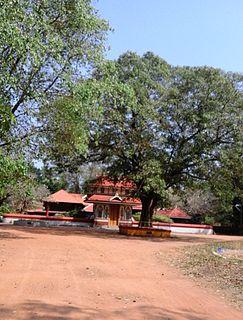 Kanimangalam town in Kerala, India