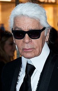 Karl Lagerfeld German fashion designer