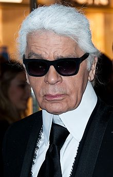 Karl Lagerfeld. From Wikipedia ...