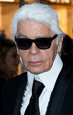 Karl Lagerfeld - Lagerfeld at a Fendi store opening in May 2014