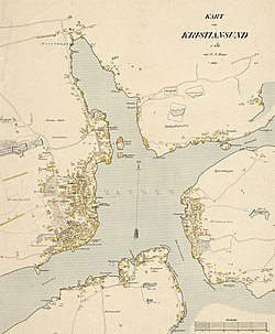 kart over averøya Kristiansund – Wikipedia kart over averøya
