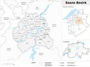 Map of Saane District