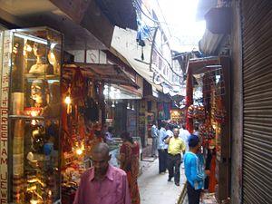 Kashi Vishwanath Temple - Street near temple