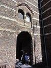 kasteel helmond, binnenplaats, zijportiek