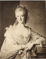 Portrait of Marquise de Poyanne