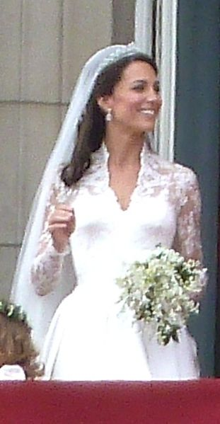 File:Kate Middleton in bridal gown.jpg