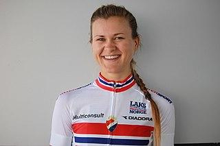 Katrine Aalerud Norwegian cyclist