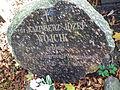 Kazimierz Wojcik tomb, Poznan, Cytadela.JPG