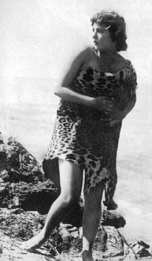 Neptune's Daughter (1914 film) - Annette Kellerman in the film.