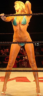 Kelly Kelly Of Ecw Competing In A Bikini Contest It Has Become Common To See