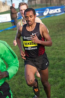 Ethiopian long-distance runner