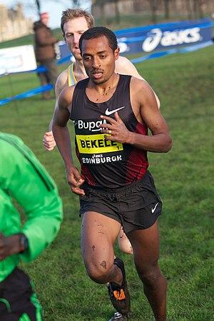 Kenenisa Bekele -  Kenenisa in 2012