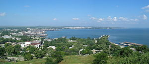 Kerch Bay - Image: Kerch View From Mithridates