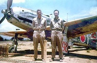 Kawasaki Ki-61 - An ex-23rd Sentai, 2nd Chutai Ki-61 found and photographed at Inba airbase by USAAF personnel in 1946.