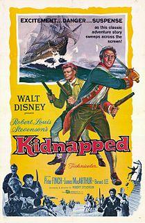 <i>Kidnapped</i> (1960 film) 1960 Walt Disney Productions film directed by Robert Stevenson