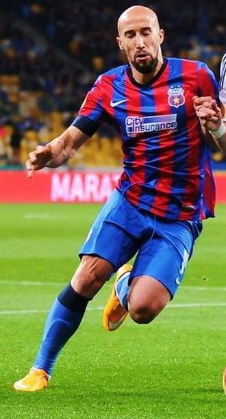Iasmin Latovlevici - Latovlevici playing for Steaua București in 2014